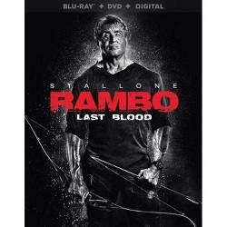 Rambo: Last Blood (Blu-Ray + DVD + Digital)