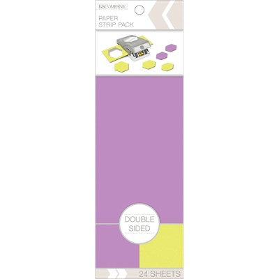 K&Company Double Sided Paper Stripe Pack