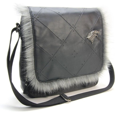 Crowded Coop, LLC Game of Thrones House Stark Messenger Bag - image 1 of 3