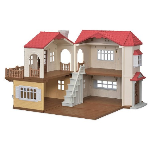 Calico Critters Red Roof Country Home Gift Set - image 1 of 4