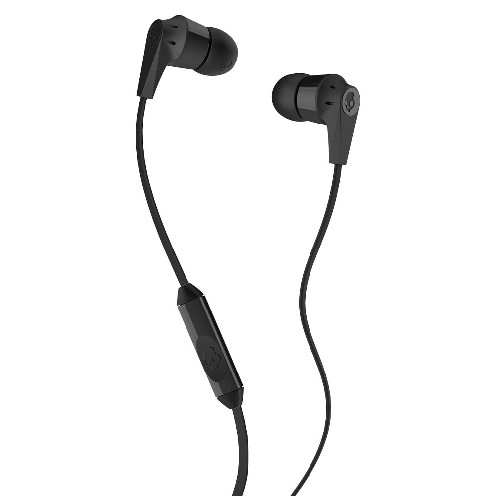 Skullcandy Ink'd 2.0 Mic'd Wired Earbuds with Mic - Black