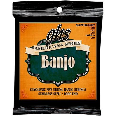 GHS GHS Americana Series Banjo Light Strings (10-LW22JD-10) - image 1 of 1
