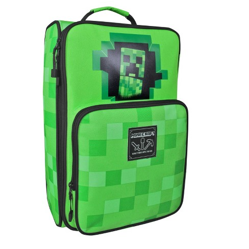 "Minecraft 18"" Kids' Carry On Suitcase - Green - image 1 of 5"