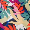 Women's Floral Print Silk Square Scarf - A New Day™ - image 3 of 3