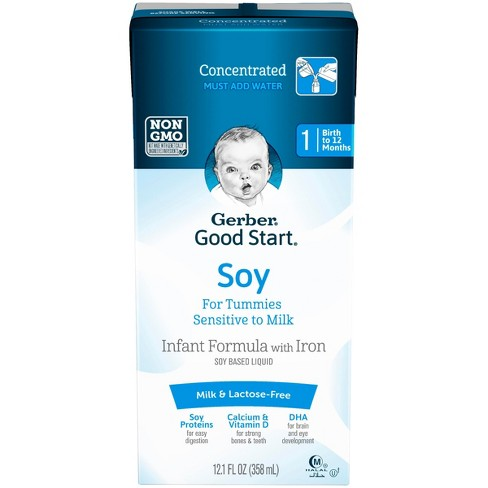 Gerber Good Start Soy Non-GMO Concentrated Liquid Infant Formula, Stage 1, 12.1 fl oz - image 1 of 3