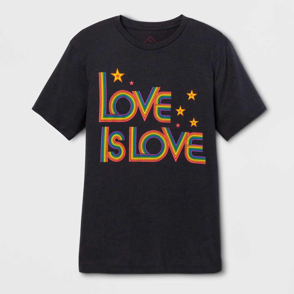 Pride Adult Extended Size Short Sleeve Love Is Love T-Shirt - Blue Crush 5XL, Adult Unisex, Size: 5XB