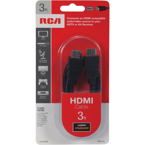 RCA VH3HHR 3 Ft HDMI Cable Target
