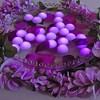 12ct Battery Operated Floating Blimp LED Lights Purple - image 2 of 2