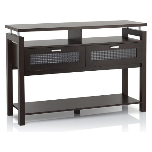 Ambrose Console Table Espresso - HOMES: Inside + Out - image 1 of 4
