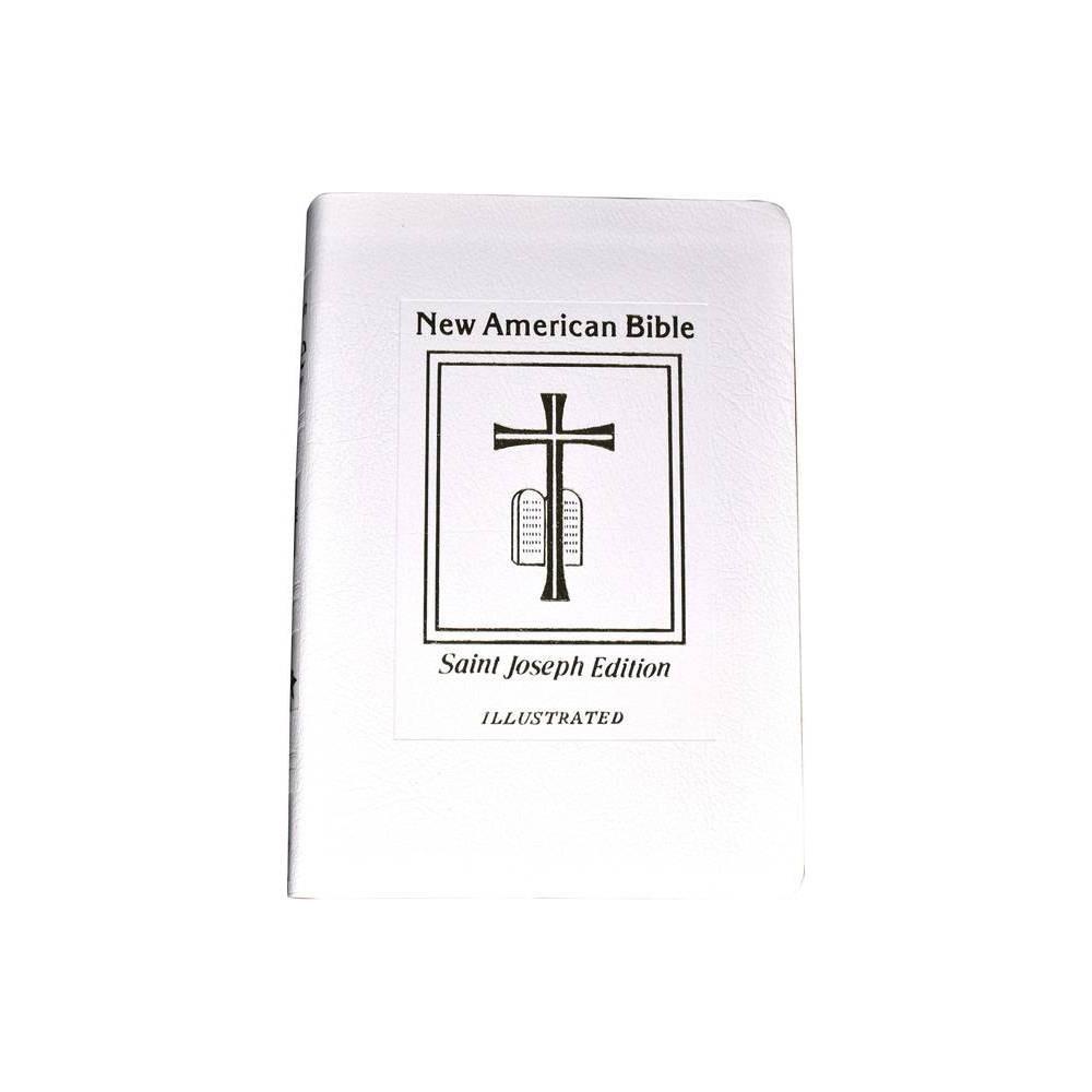 Saint Joseph Medium Bible Nabre Leather Bound