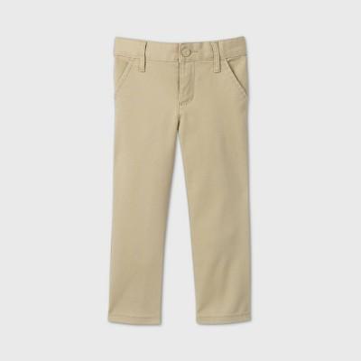 Toddler Girls' Stretch Uniform Skinny Fit Chino Pants - Cat & Jack™