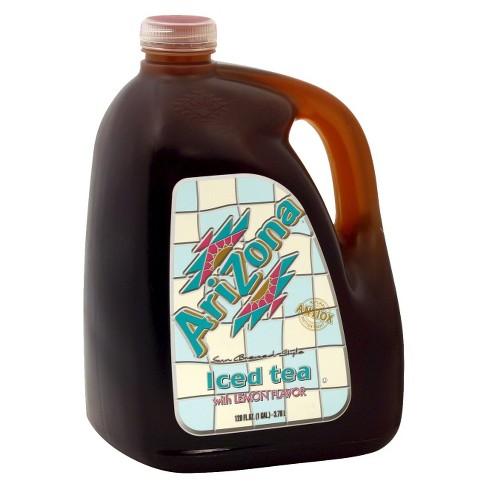 AriZona Iced Tea with Lemon Flavor - 128 fl oz Jug - image 1 of 1