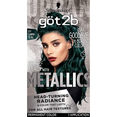 Got2b Metallics - Cosmic Teal 12 - 4.8oz - image 1 of 4