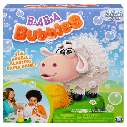 Baa Baa Bubbles Bubble-Blasting Game with Interactive Sneezing Sheep image number null