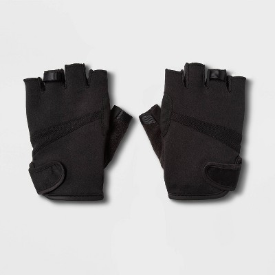 Men's Strength Training Gloves Black L - All in Motion™