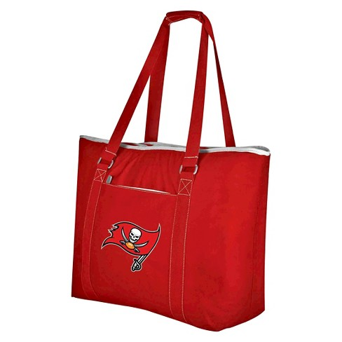 9fa1b396b9e2 Tampa Bay Buccaneers - Tahoe Cooler Tote by Picnic Time (Red)