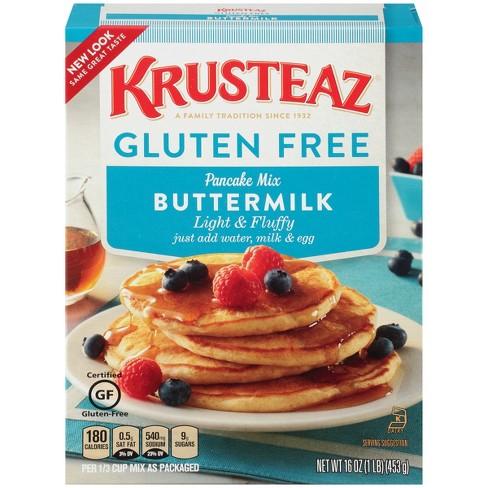 Krusteaz Gluten Free Pancake Mix 16 Oz Target