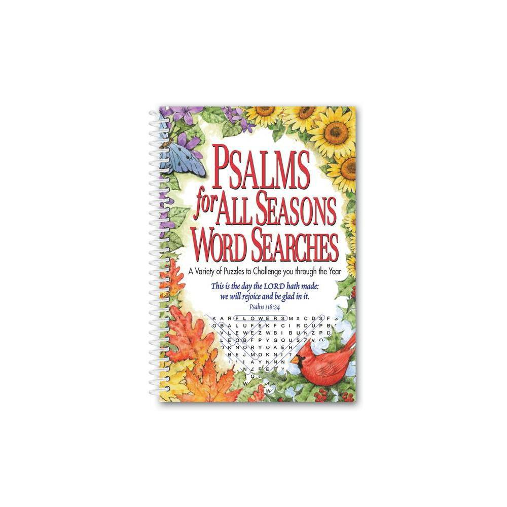 Psalms For All Seasons Word Searches By Product Concept Editoris Spiral Bound