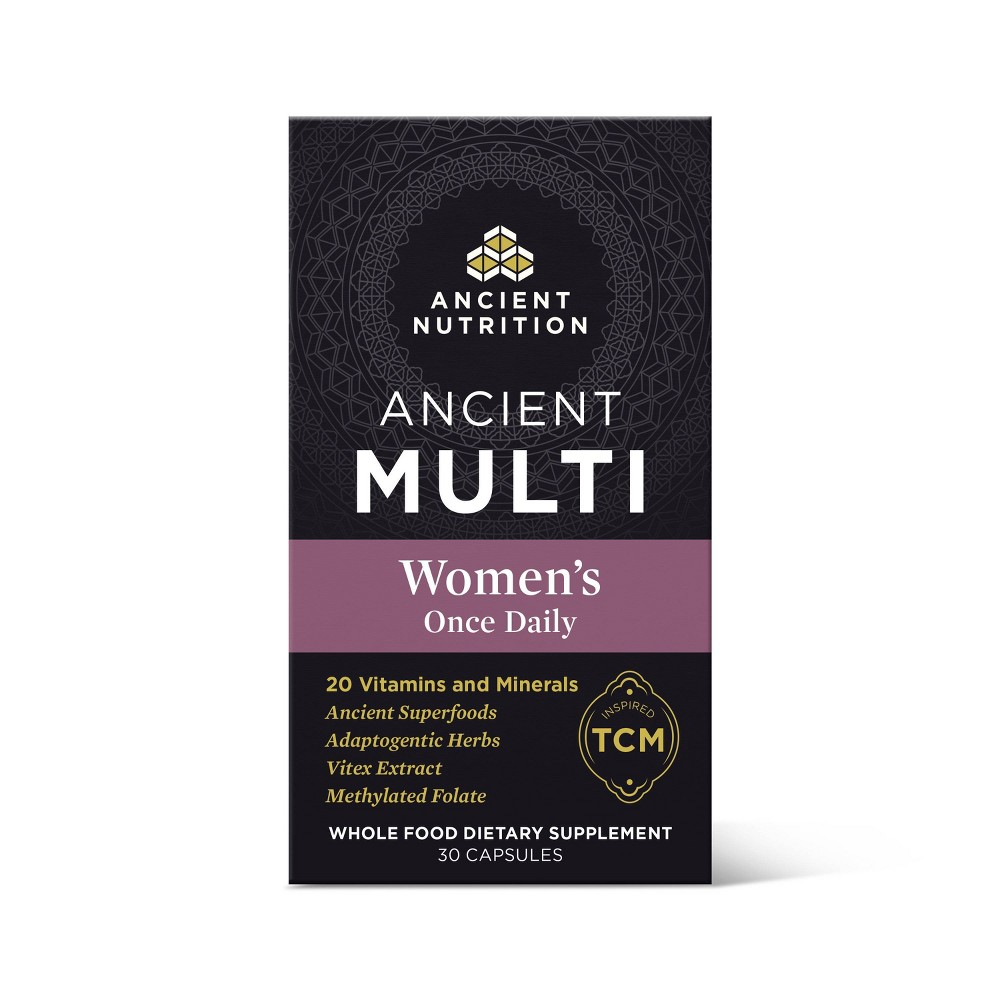 Ancient Nutrition Ancient Multi 39 S Women 39 S Once Daily Capsule 30ct