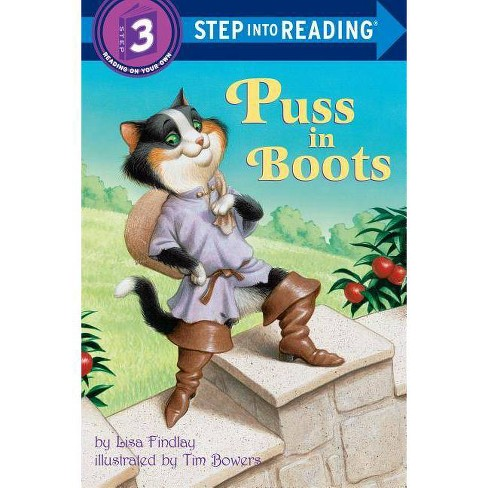 Puss in Boots - (Step Into Reading - Level 3 - Quality) by  Lisa Findlay (Paperback) - image 1 of 1