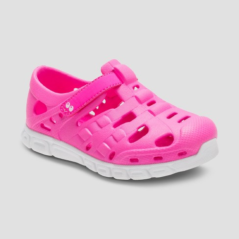 85c99151ee0d Toddler Girls  Surprize By Stride Rite Venecia Land   Water Shoes - Pink 7    Target