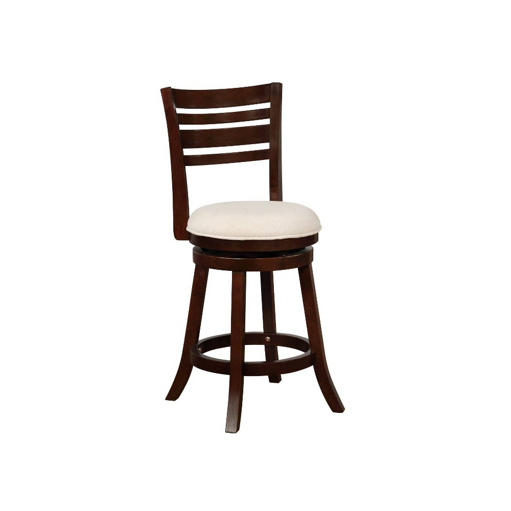 "Image of ""24"""" Buxton Counter Stool Espresso - Powell Company"""
