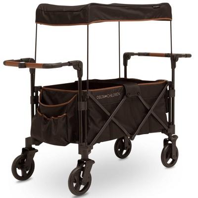 Delta Children Hercules Stroller Wagon - Black