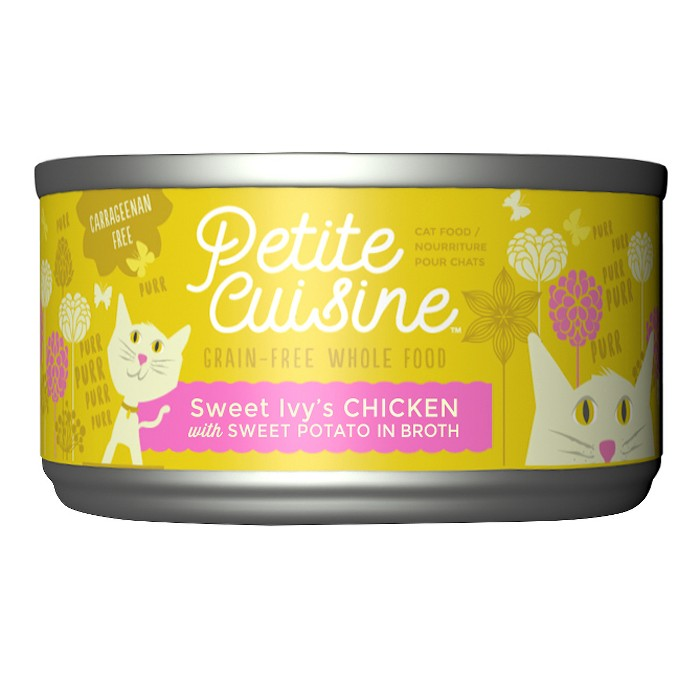 Petite Cuisine Sweet Ivy's Chicken with Sweet Potatoes Wet Cat Food - 2.8oz - image 1 of 4