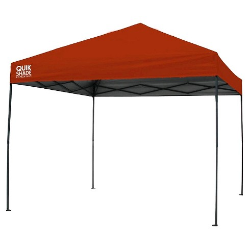 Quik Shade Expedition 100 Instant Canopy - Red - image 1 of 1