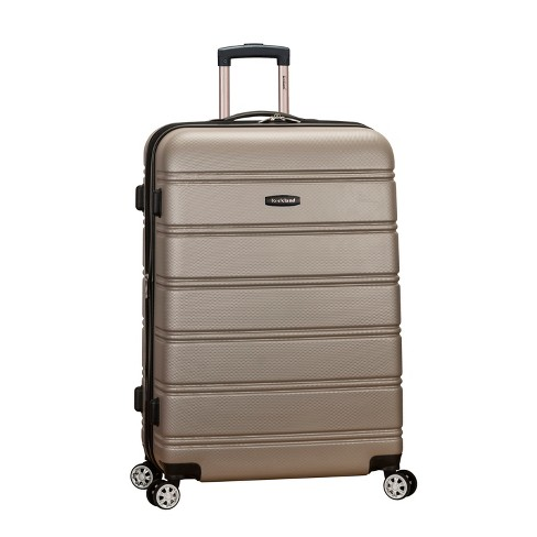"Rockland Melbourne 28"" Expandable Hardside Spinner Suitcase - Silver - image 1 of 5"