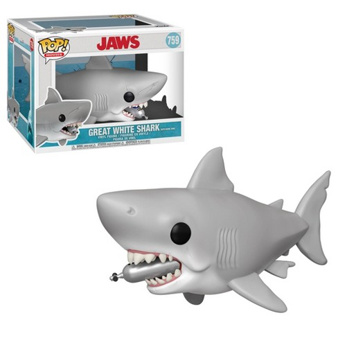 """Funko POP! Movies: 6"""" JAWS - Great White Shark (with Diving Tank) - image 1 of 3"""