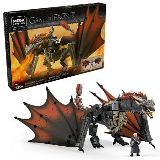 Mega Construx Game of Thrones Daenerys and Drogon Construction Set
