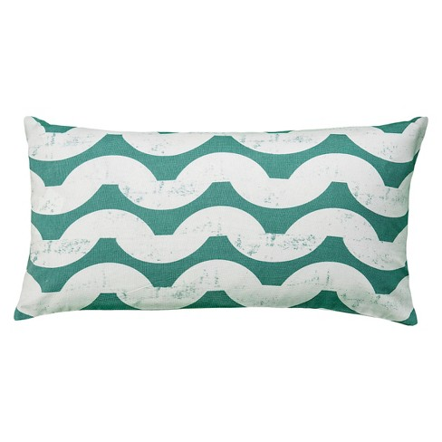 Print Throw Pillow Contemporary Design - Rizzy Home - image 1 of 1
