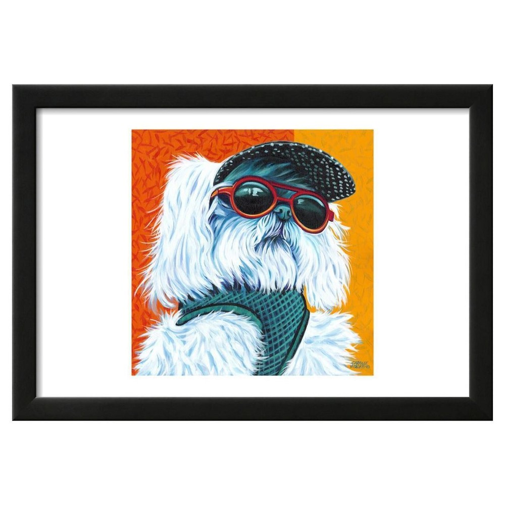Cute Pups IV by Carolee Vitaletti Framed Poster 19