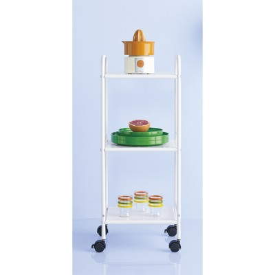 3 Shelf Utility Storage Cart White - Room Essentials™