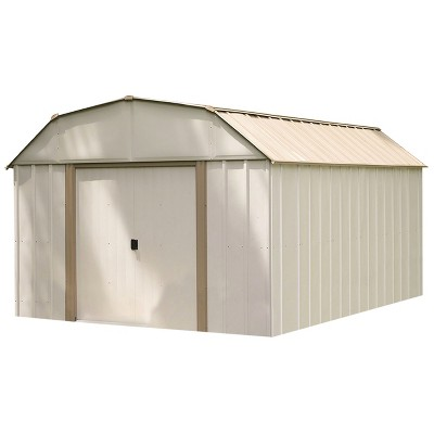 Lexington 10u0027 X 14u0027 Steel Storage Shed   Arrow Storage Products