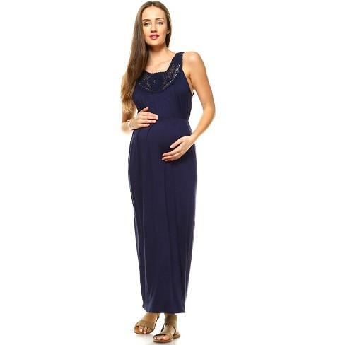 Maternity Kadyn Maxi Dress - White Mark - image 1 of 3