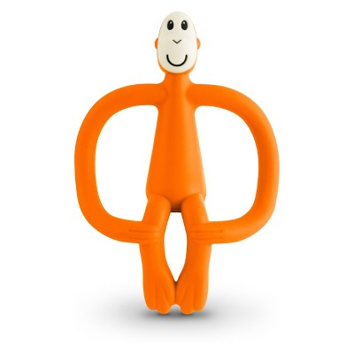 Matchstick Monkey Teething Toy - Orange