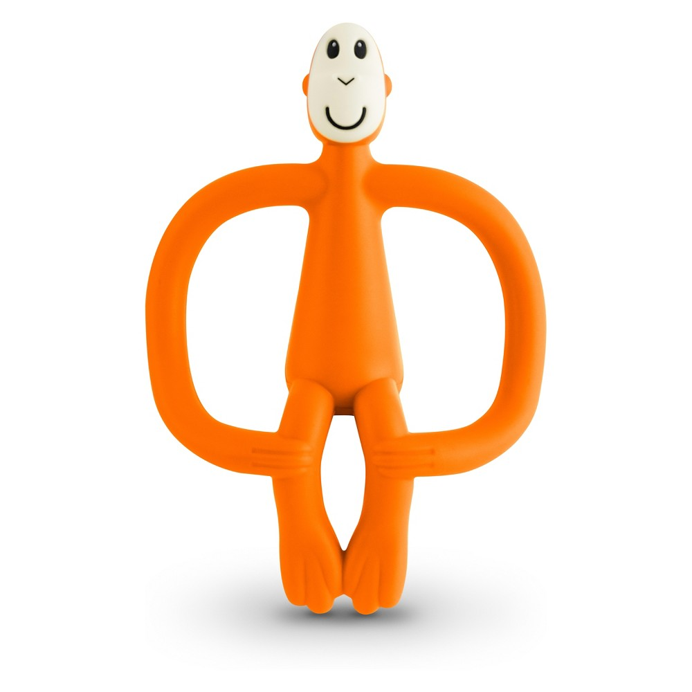 Image of Matchstick Monkey Teething Toy - Orange