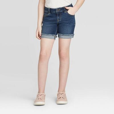 Girls' Midi Jean Shorts - Cat & Jack™