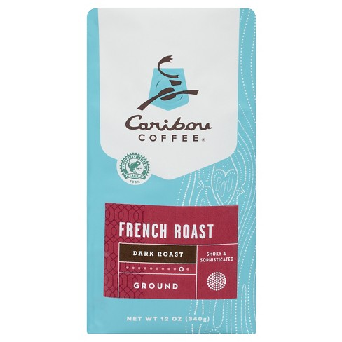 Caribou Coffee French Dark Roast Ground Coffee - 12oz - image 1 of 1