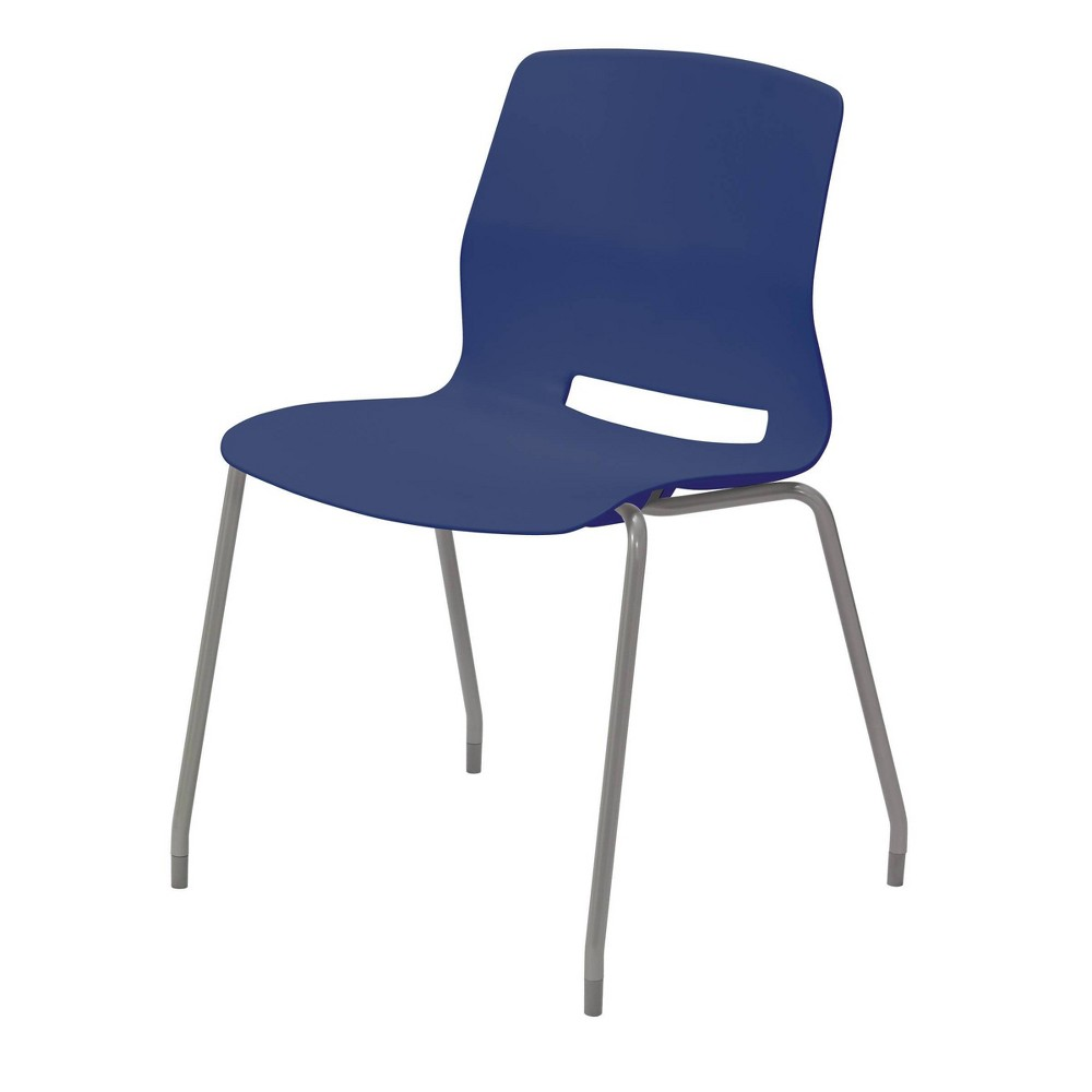 Lola Armless Stack Chair Navy (Blue) - Olio Designs