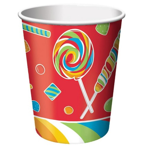 8 Pack 9 oz Cups Sugar Buzz - image 1 of 1