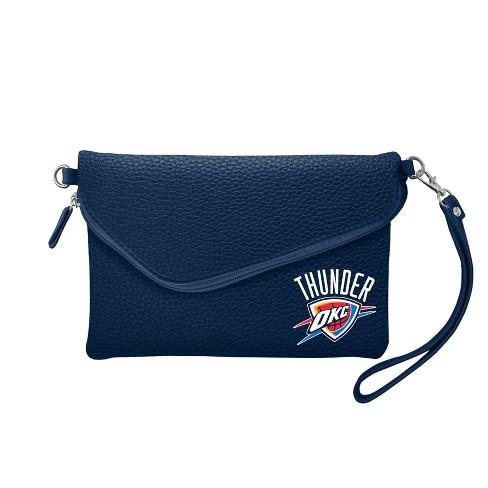NBA Oklahoma City Thunder Fold Over Pebble Crossbody Bag - image 1 of 1