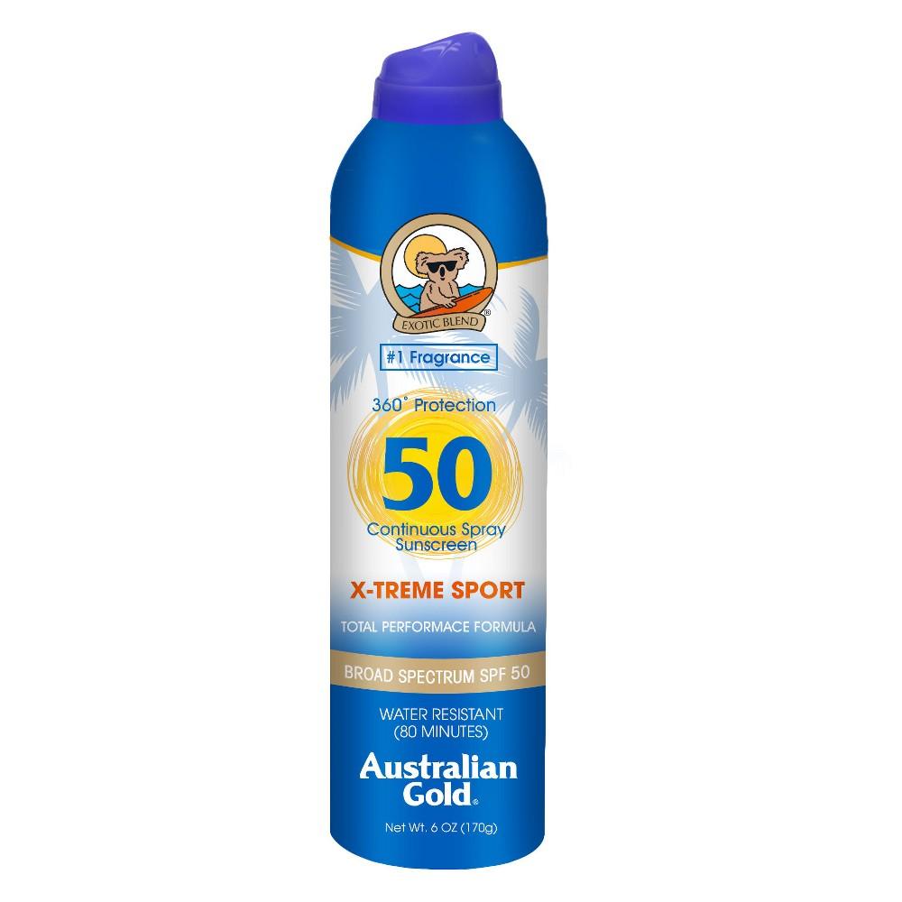 Image of Australian Gold Xtreme Sport Continuous Spray - SPF 50 - 6 fl oz