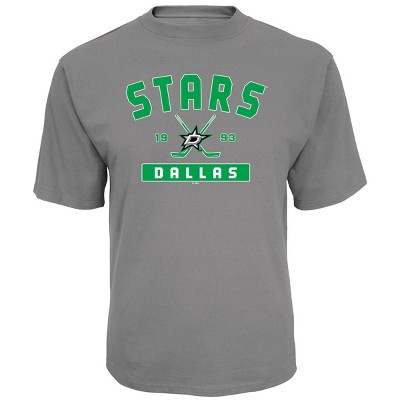 NHL Dallas Stars Men's Center Ice Gray T-Shirt - L