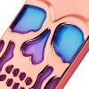 MYBAT For Apple iPhone 7 Plus/8 Plus Blue Purple Skullcap Hard TPU Hybrid Case - image 2 of 2