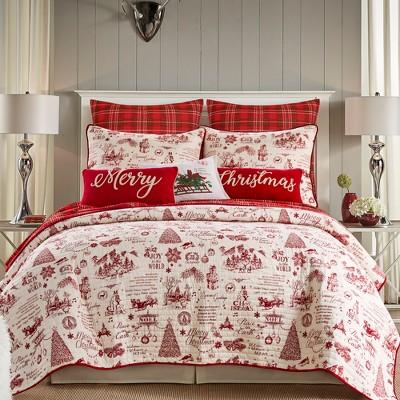 Yuletide Holiday Quilt Set - Levtex Home