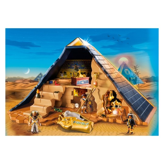 Playmobil Pharaoh's Pyramid Playset image number null