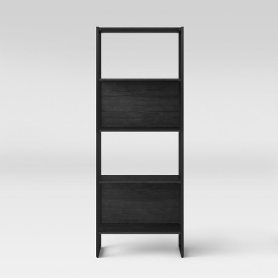 66.4  Paulo 4 Shelf Bookshelf Black - Project 62™